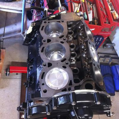 short block assembly