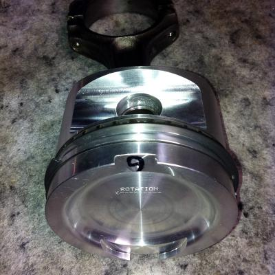 forged piston with std conrod